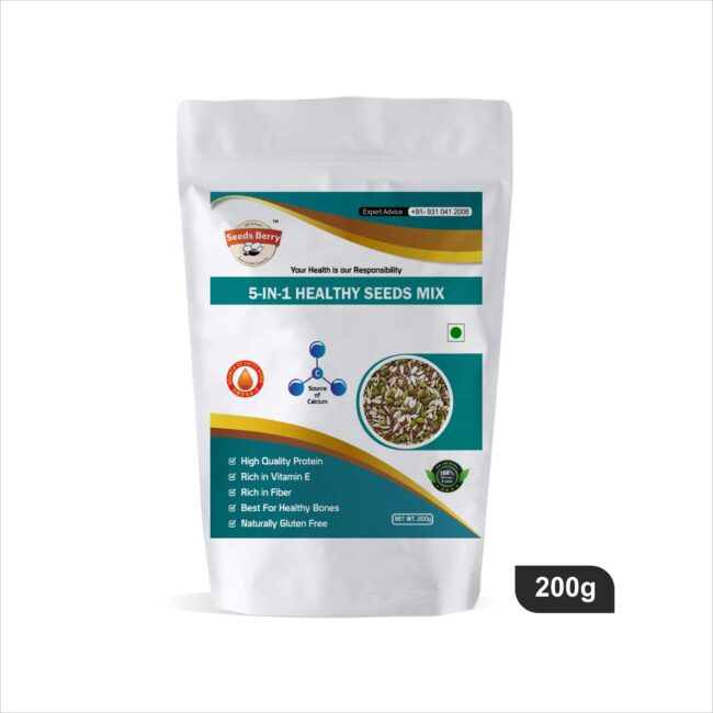 5 in 1 Healthy Seeds Mix 200g