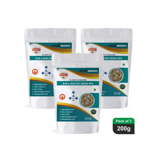 Un-roasted 5 in 1 Seeds Mix 600g