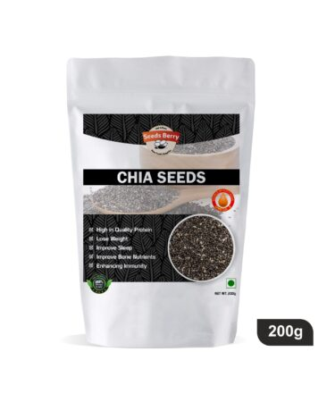 Black Chia Seeds for Weight Loss & Hair
