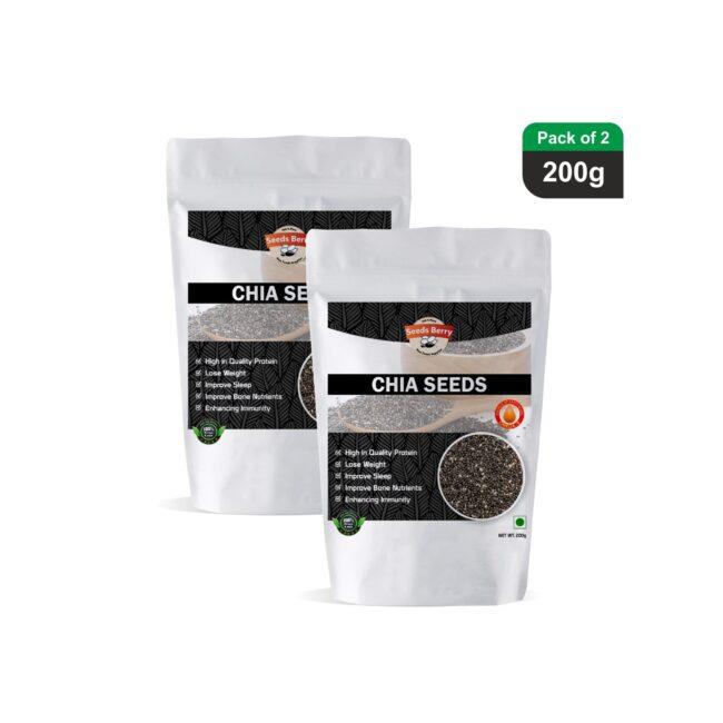 Chia Seeds for Skin & Hair