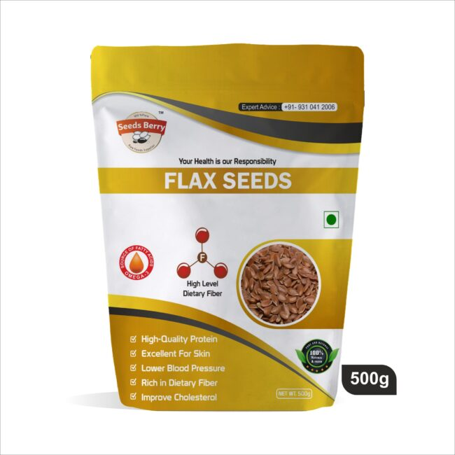 Flax Seeds for Weight Loss / Alsi Seeds or Agase Beeja for Hair Growth