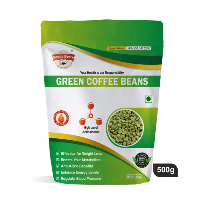 Raw Green Coffee Beans Instant Coffee