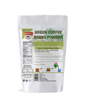 Raw Green Coffee Beans Powder for Weight Loss