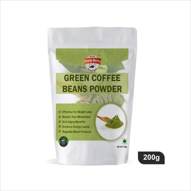 Green Coffee Beans Powder, Green Coffee Powder for Weight Loss