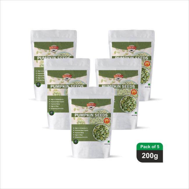 Green Pumpkin Seeds for Hair Growth