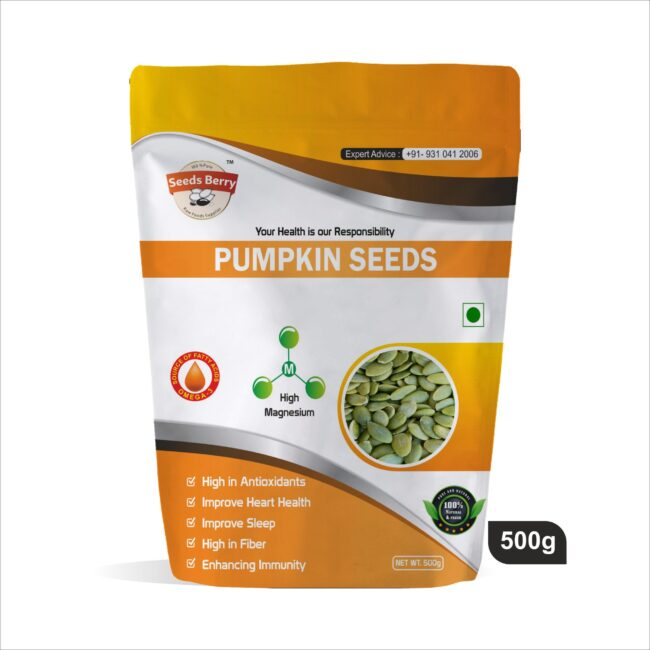 Green Pumpkin seeds for Eating