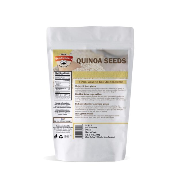 Calcium Rich Quinoa Seeds for Weight Loss