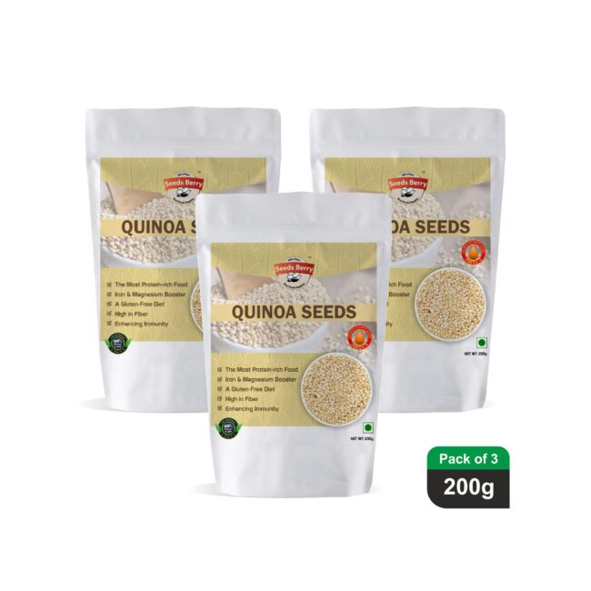White Quinoa Seeds for Eating
